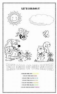 nature worksheets free 15085 giving color to our nature esl worksheet by camila sousa