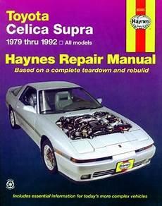how to download repair manuals 1992 toyota celica windshield wipe control toyota celica supra haynes repair manual 1979 1992 hay92025
