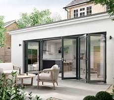 Kitchen Door To Garden by Garden Ideas For Bifold Doors Aspire Doors