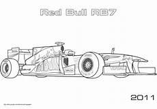 Ausmalbilder Rennwagen Formel 1 Ausmalbilder Formel 1 Bull Coloriage 224 Imprimer