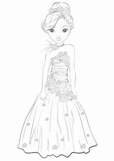 Www Malvorlagen Bilder De Top Model Princess Dress By Funandcake Topmodel Ausmalbilder