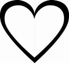 Malvorlage Einfaches Herz Einfaches Herz Vektoren Fotos Und Psd Dateien