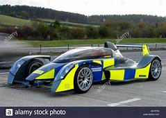 Caparo T1 Supercar With Police Markings Britain UK Stock