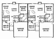 builder house plans com modest cost efficient duplex hwbdo64029 traditional