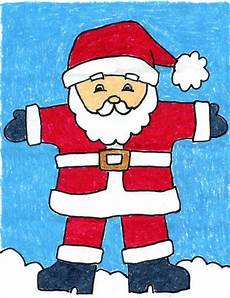 draw santa claus 183 projects for