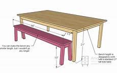 Kitchen Bench Size by Learn Workbench Magazine Plans Bawe