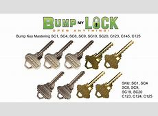 what are bump keys