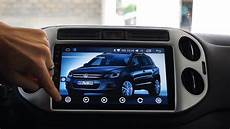 gps autoradio 10 2 quot android 6 0 pour volkswagen tiguan