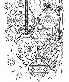 classic glass ornaments coloring page crayola