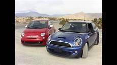 2012 mini cooper s versus fiat 500 abarth 0 60 mph mashup