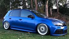 vw golf mk6 r bbs bagged tuning project