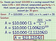 how to maximize compound interest with pictures wikihow