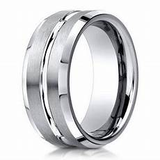 mens palladium 6mm wedding ring men s palladium wedding ring with center cut 6mm just men s rings