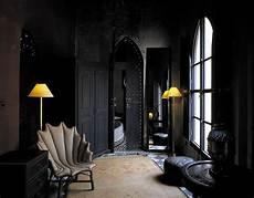 interior design in black the black wall a bold statement in interior design