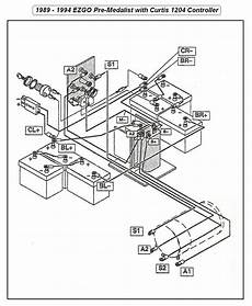 1984 Club Car Golf Cart Wiring Diagram 36 Volts Wiring