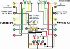 heat thermostat wiring diagram schematic wiring diagram for thermostat to furnace sle