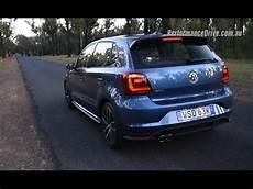 volkswagen polo sound 2015 volkswagen polo gti dsg 0 100km h engine sound