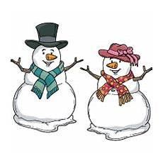 malvorlage schneemann und schneefrau projekt schnee und schneemann kindergarten und kita ideen