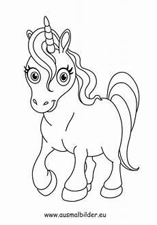 ausmalbilder einhorn pferde malvorlagen