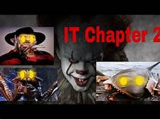 what forms will pennywise take it chapter 2 youtube