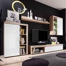 Wohnwände Eiche Sägerau - wohnwand wei 223 eiche s 228 gerau interieur und wohndesign ideen