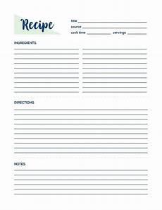 recipe page recipe printable recipe card recipe