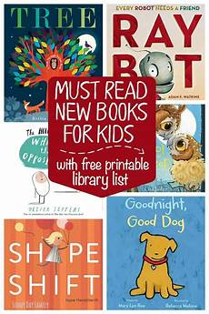 6 must read new preschool books plus a free printable library list sunny day family