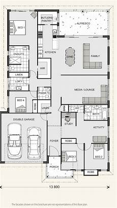 gj gardner homes house plans seacrest 264 gj gardner with images house plans floor