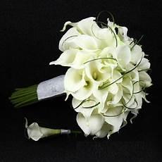 elegant style handmade pu calla artificial flower 1pc wedding bouquet and 1 pc groom
