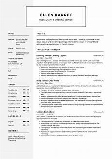 full guide restaurant server resume 12 pdf exles 2019