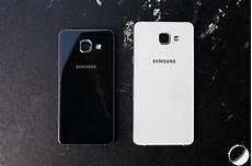 Prise En Des Samsung Galaxy A3 Et A5 2016 Du