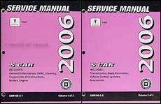 online car repair manuals free 2006 pontiac vibe instrument cluster 2006 pontiac vibe repair shop manual original 2 volume set