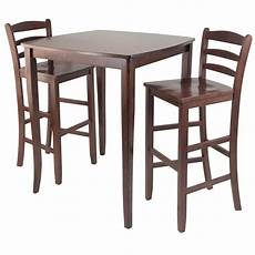 Dining Table With Stools by Winsome Inglewood High Pub Dining Table With