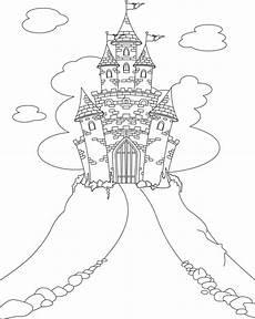 Ausmalbild Prinzessin Schloss Ausmalbild Prinzessin Prinzessinnen Schlo 223 In Den Wolken