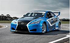 Blue Race Car Wallpaper