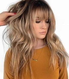 50 cute layered haircuts with bangs 2020
