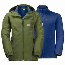 wolfskin iceland 3in1 jacket 3 in 1 jacket boys