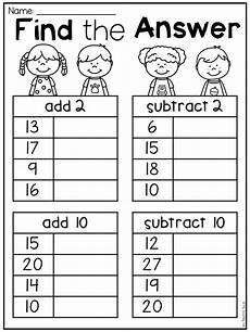 add and subtract worksheets for grade 1 10441 grade addition and subtraction worksheets distance learning with images grade