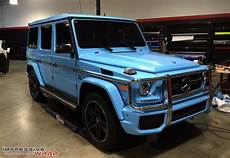 yay or nay sky blue mercedes g63 amg