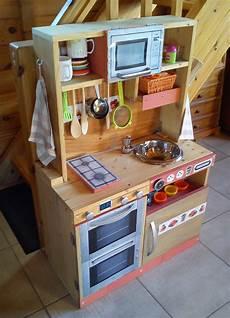 Cuisini 232 Re En Bois Pour Enfant Fait Maison Diy