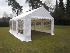 Zelt Pavillon Kaufen - 3x6m pvc partyzelt festzelt bierzelt zelt pavillon grau