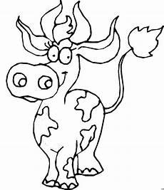malvorlagen gratis kuh gefleckte weibliche kuh ausmalbild malvorlage comics