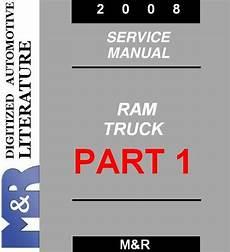 auto repair manual free download 2008 dodge ram 1500 lane departure warning 2008 dodge ram service manual part1 download manuals tec