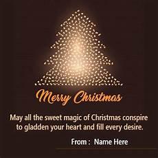 make your merrychristmascardwithnameedit colorful embellishments images celebrat christmas