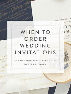 Where To Order Wedding Invitations when to order wedding invitations the wedding stationery