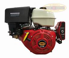 new 13hp gas engine electric start side shaft 13 hp