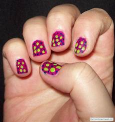 ez nail designs polka dot nail design