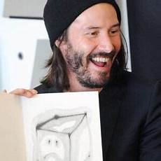 sad keanu cries until he laughs with his ode to happiness