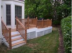 Terrasse Zaun Holz - wooden terrace fence beautiful addition to every house
