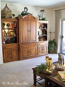 Decorating Ideas Top Of Entertainment Center by Fall Home Tour 2014 A Stroll Thru